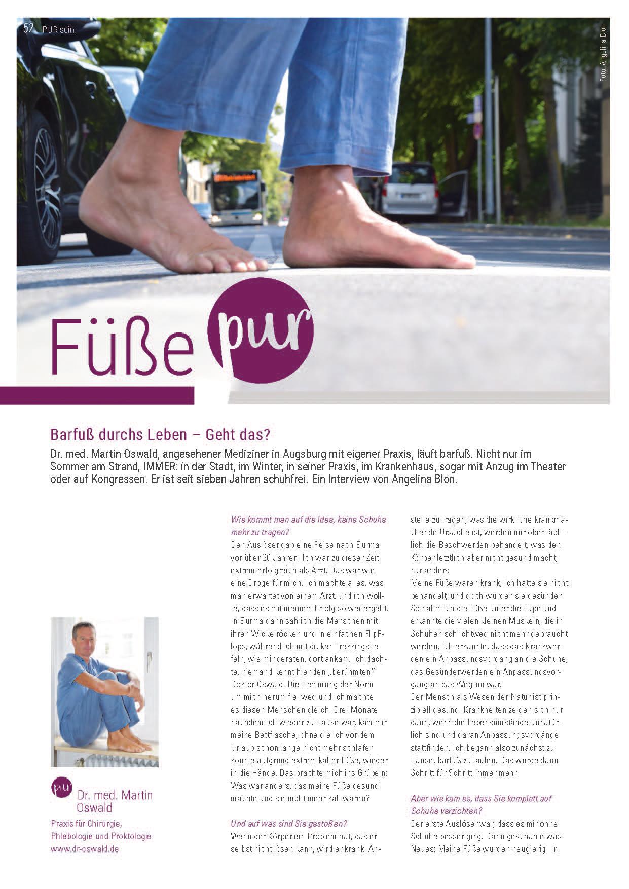 Artikel Fuß