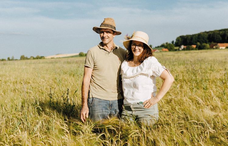LandwirtInnen auf dem Feld
